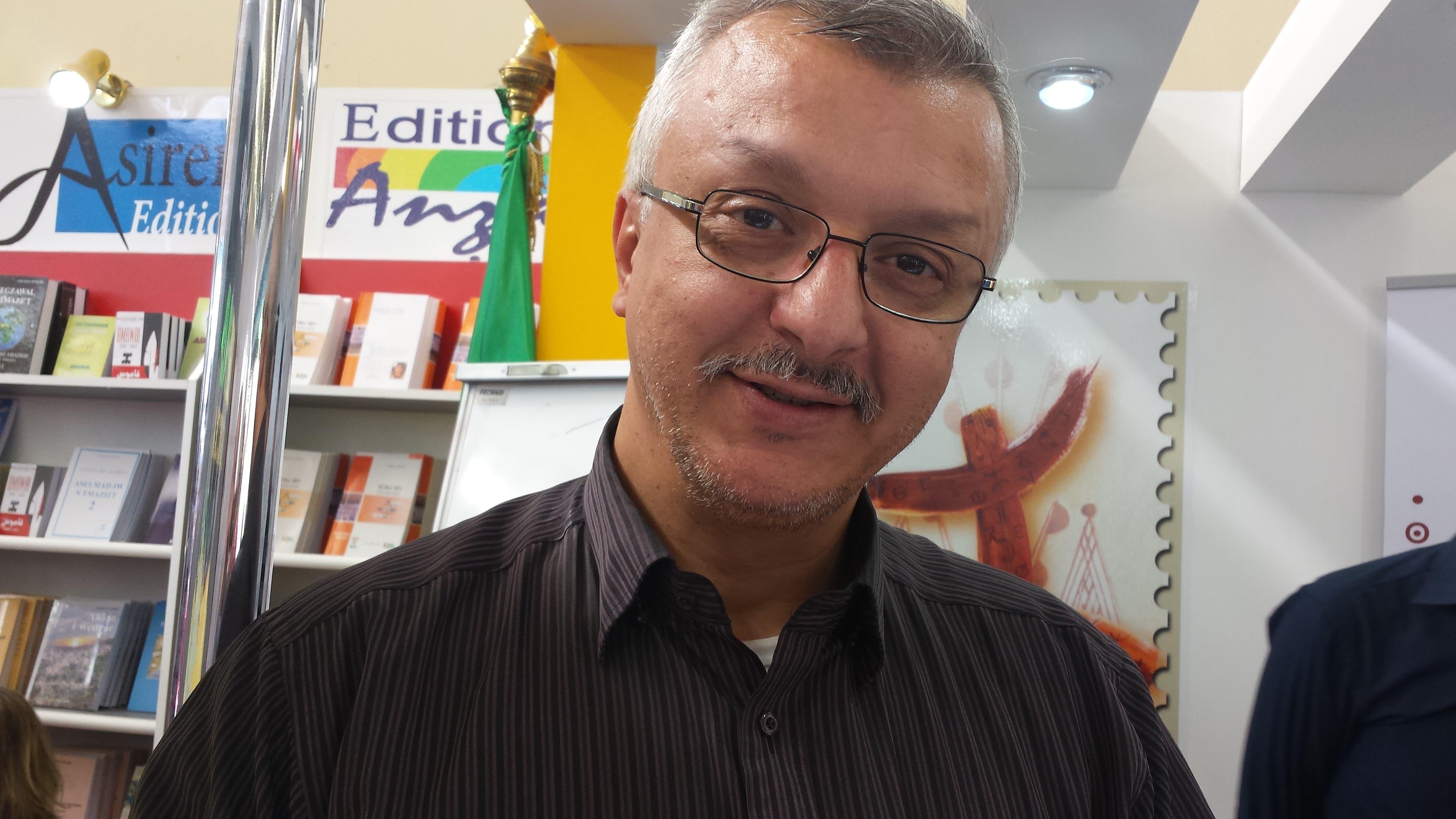 رمضان عبدالنبي عضو المحافظة السامية أمازيغية