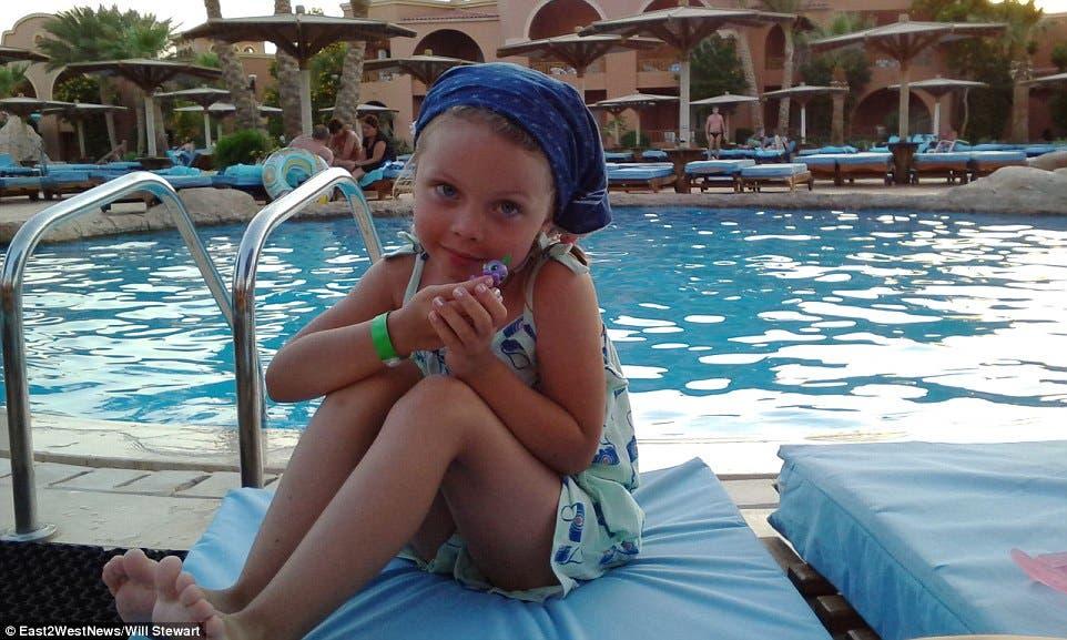 طفلة من ضحايا الطائرة