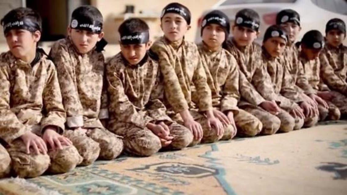 أطفال - داعش - تدريب - معسكر