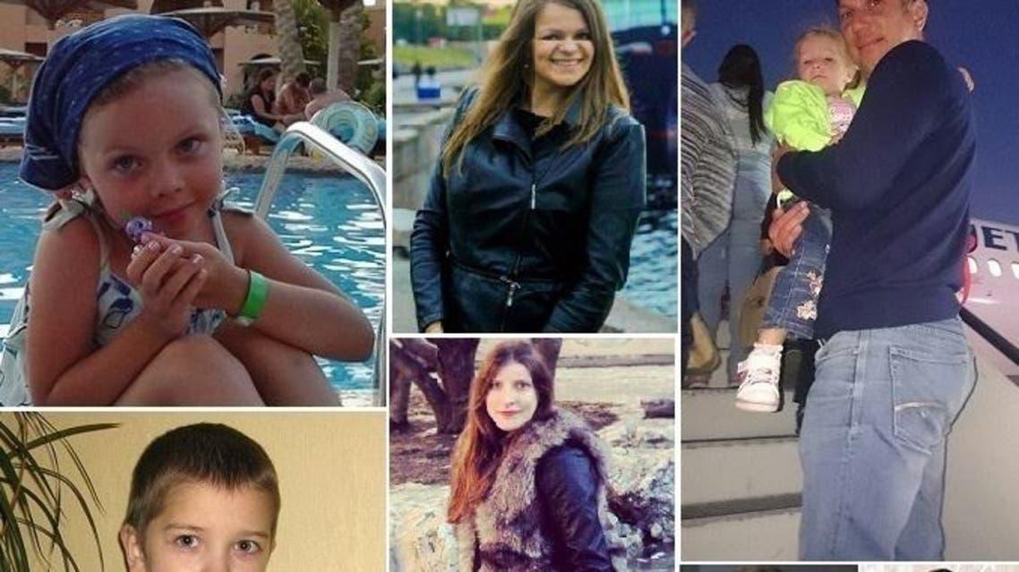 صور لبعض الضحايا، بالغين وأطفالا، ممن لم يتم نشر أسمائهم بعد