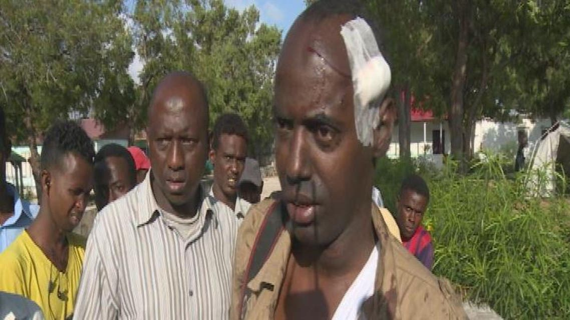 مصور رويترز الذي اصيب في هجوم الصومال