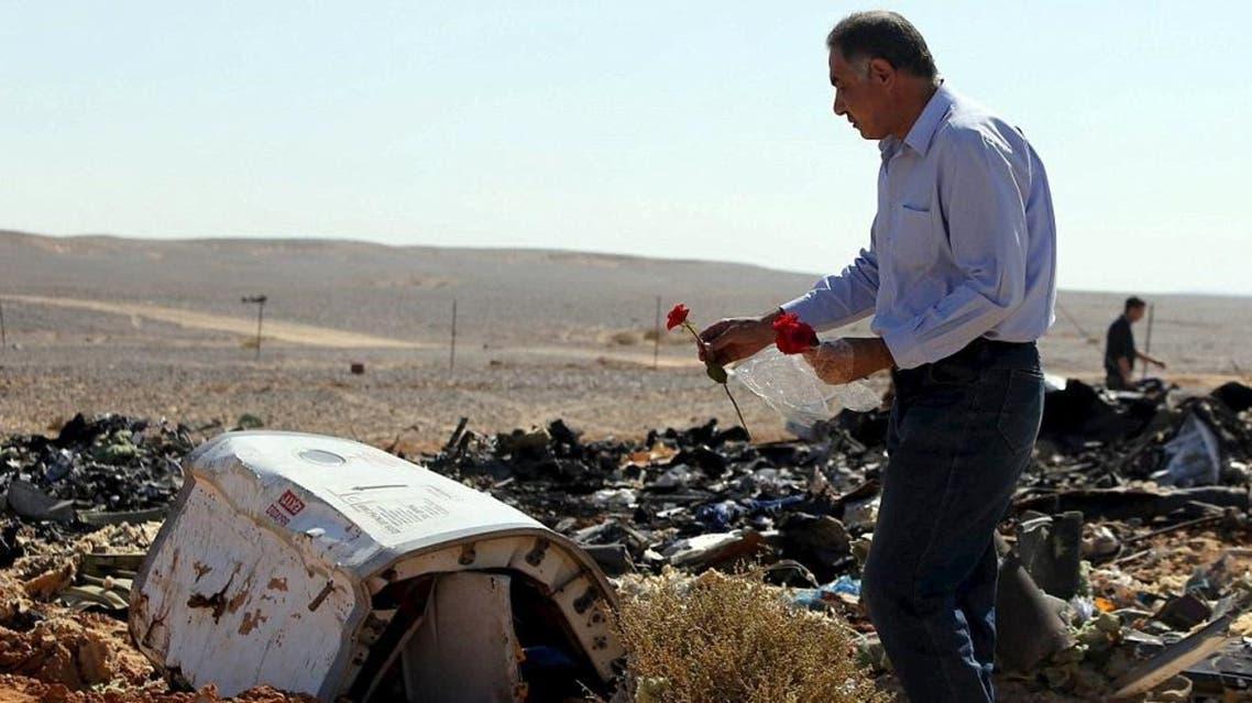 سقوط الطائرة الروسية في مصر