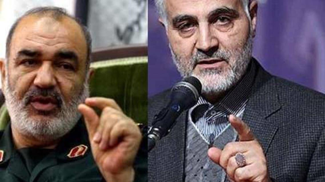 قاسم سليماني وحسين سلامي
