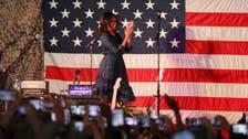 Michelle Obama visits U.S. air base in Qatar