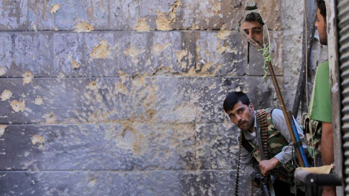 A Free Syrian Army soldier