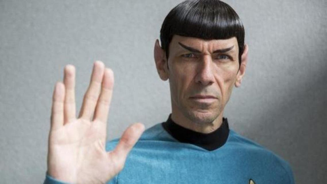 An impersonator poses in costume as the character Mr Spock from the science fiction series ''Star Trek'' at the London Film and Comic-Con in London, Britain July 17, 2015. (Reuters)