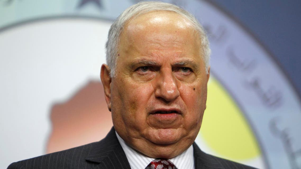 Iraqi Secular Shiite lawmaker Ahmed Chalabi speaks during a news conference in Baghdad, July 15, 2014. (Reuters)