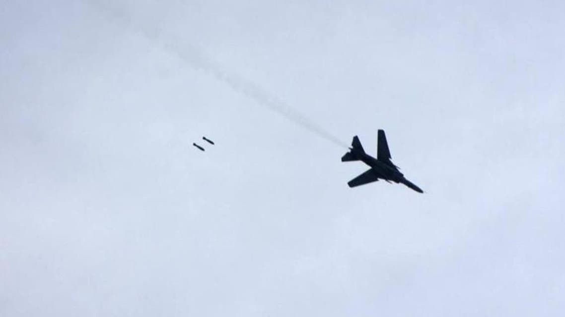 طائرة - قصف - نظام - سوريا