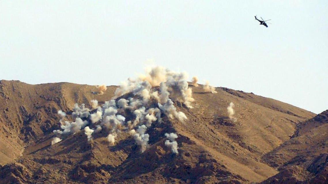 غارة للطيران الروسي في محيط تدمر مروحية روسية طائرة روسية روسيا سوريا