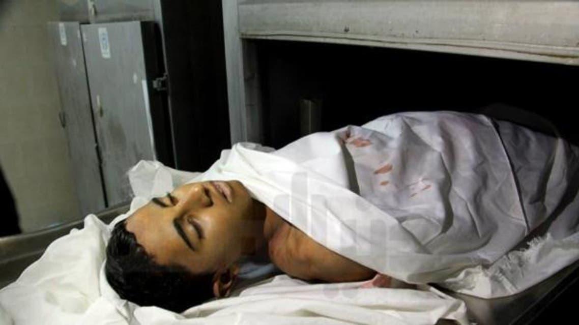 الصياد فراس محمد مقداد قتل برصاص الجيش المصري في عرض البحر في الجانب الفلسطيني من شواطئ رفح