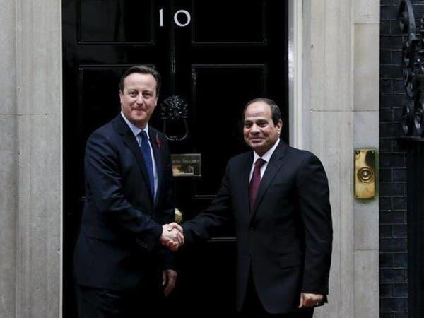 السيسي: بريطانيا راجعت أمن مطار شرم الشيخ
