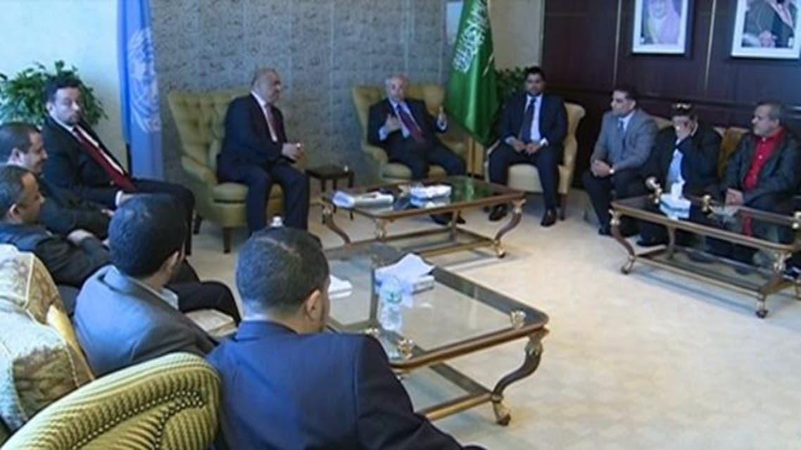 لقاء سعودي يمني في أميركا