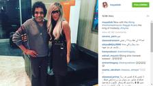 محمد منير يظهر للمرة الأولى بعد جراحة القلب