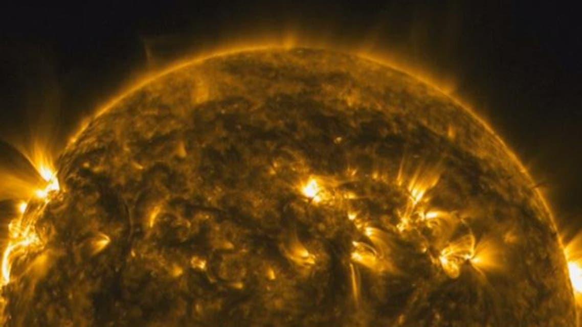 ناسا تعرض فيديو عن الشمس بدقة عالية جدا