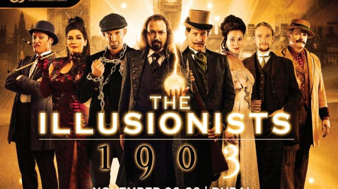 """'The Illusionists 1903' promising to shows with themes """"all the way from the Golden Age of Magic and era of the Houdini' (Photo: Alchemy Project)"""