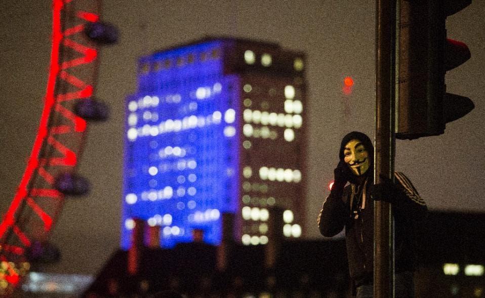 Violence as anti-capitalist march hits London - Al Arabiya