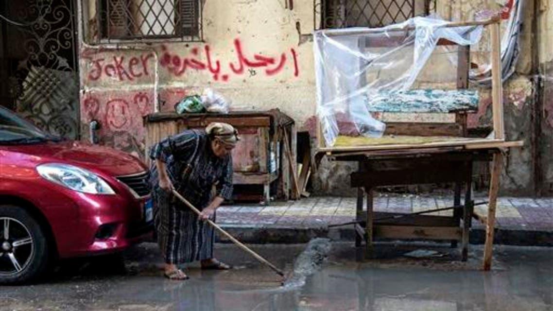 Heavy rains flood Arab cities