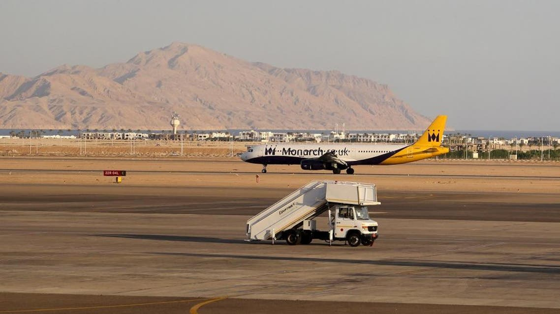 A Monarch British charter airplane is seen as it lands at the airport of the Red Sea resort of Sharm el-Sheikh, November 6, 2015. (File: Reuters)