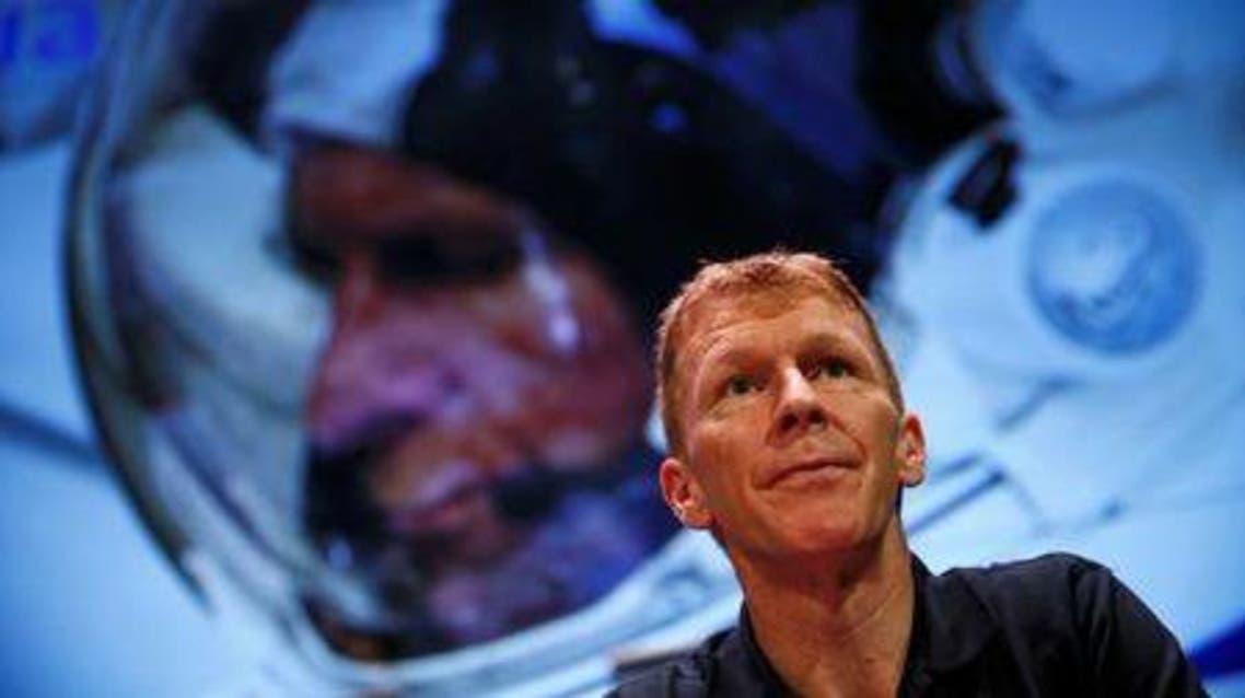 British astronaut Tim Peake listens during a news conference at the Science Museum in London, Britain November 6, 2015. (Reuters)