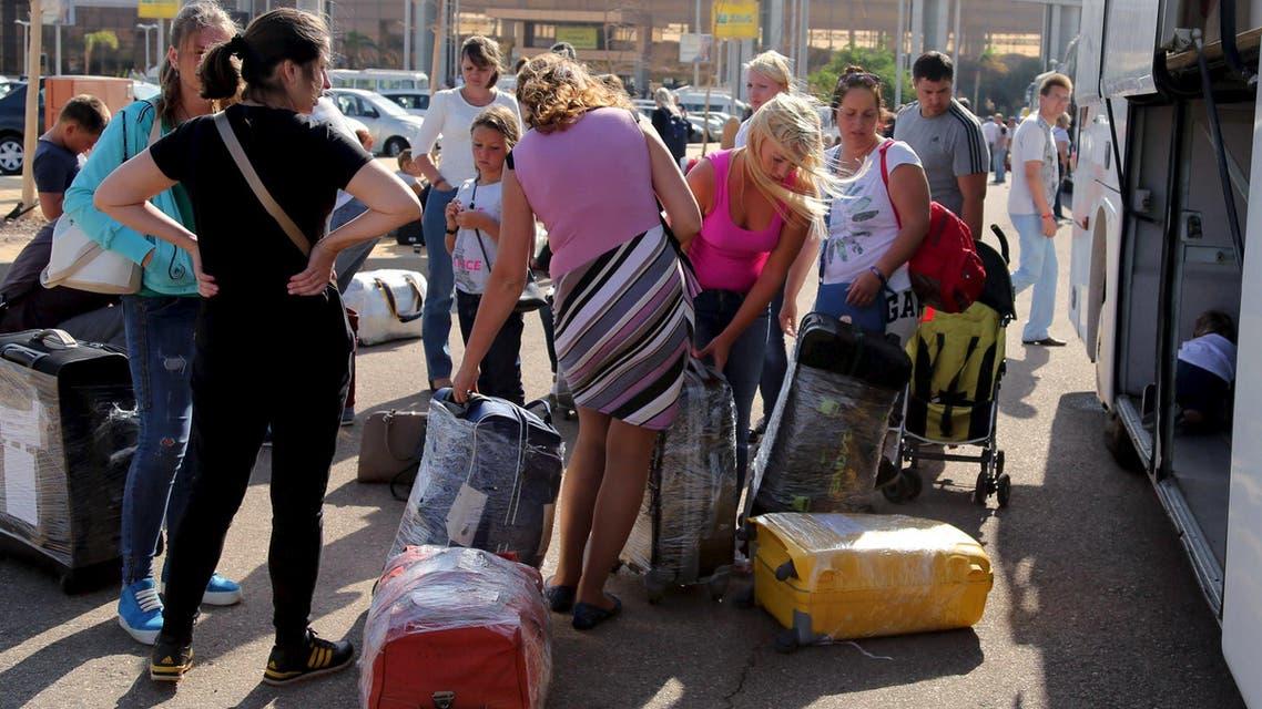 سائحون روس في مصر