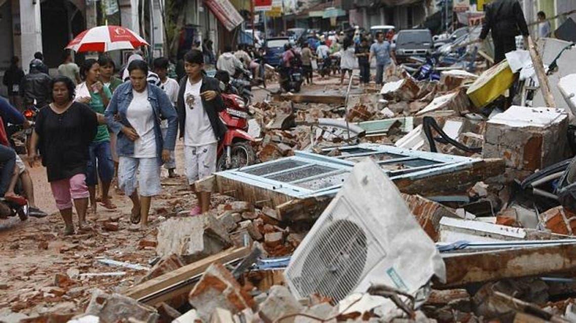 زلزال - إندونيسيا - أرشيفية