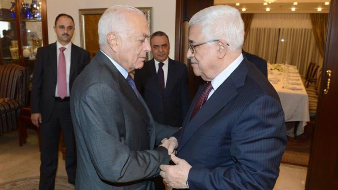 محمود عباس ونبيل العربي