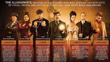 The Illusionists 1903: A homage to Houdini's golden age in Dubai