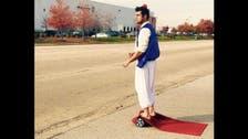 Pakistani-American's Aladdin magic carpet video goes viral