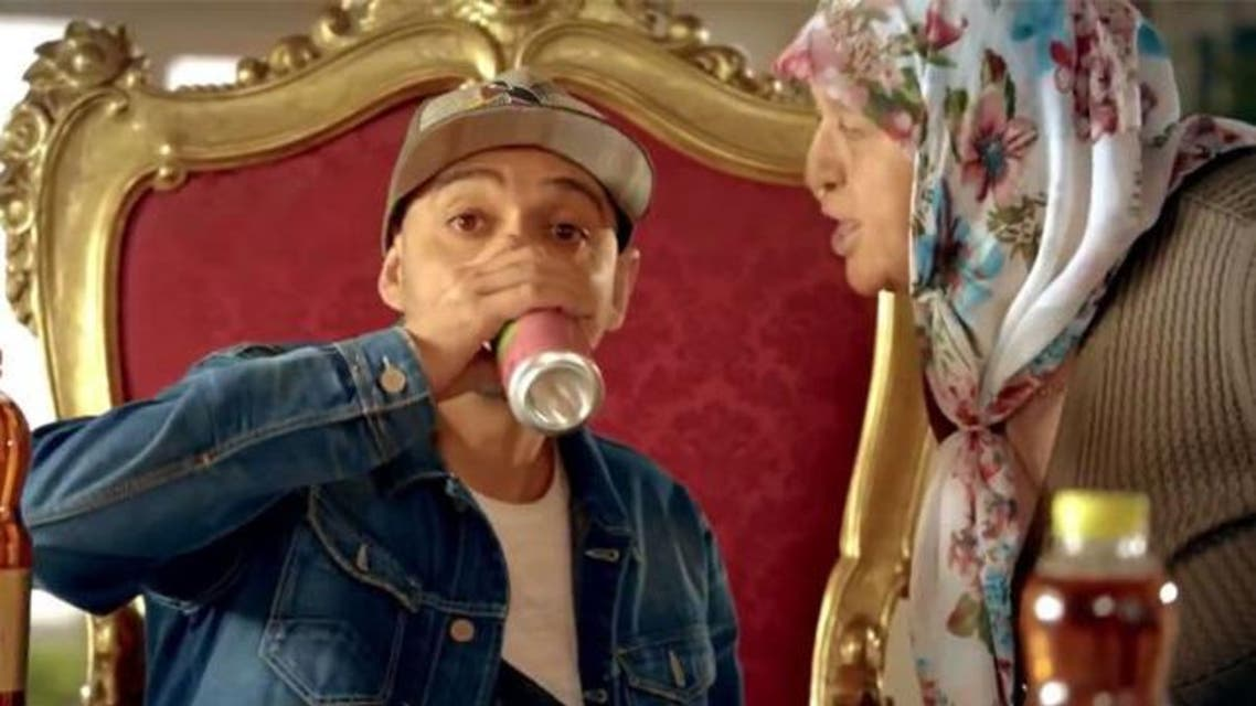 """In the commercial for """"Didi"""", a popular iced tea product made by state-owned Caykur, Turkish rap star Ceza sings: """"I've tried ayran, it makes me sleepy."""" (YouTube)"""