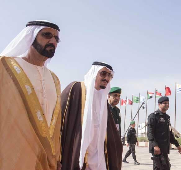 نائب رئيس دولة الإمارات الشيخ محمد بن راشد آل مكتوم