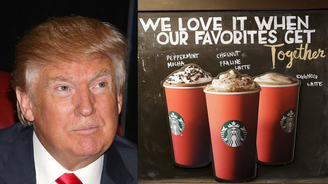 Trump, Starbucks   AP