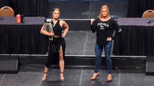 Battle of the Blondes: Ronda Rousey and Holly Holm in UFC fight