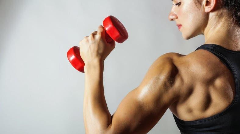 Primero de todo, echar un vistazo a cómo los tejidos musculares no construir en un método lineal, sino en una serie de chorros.