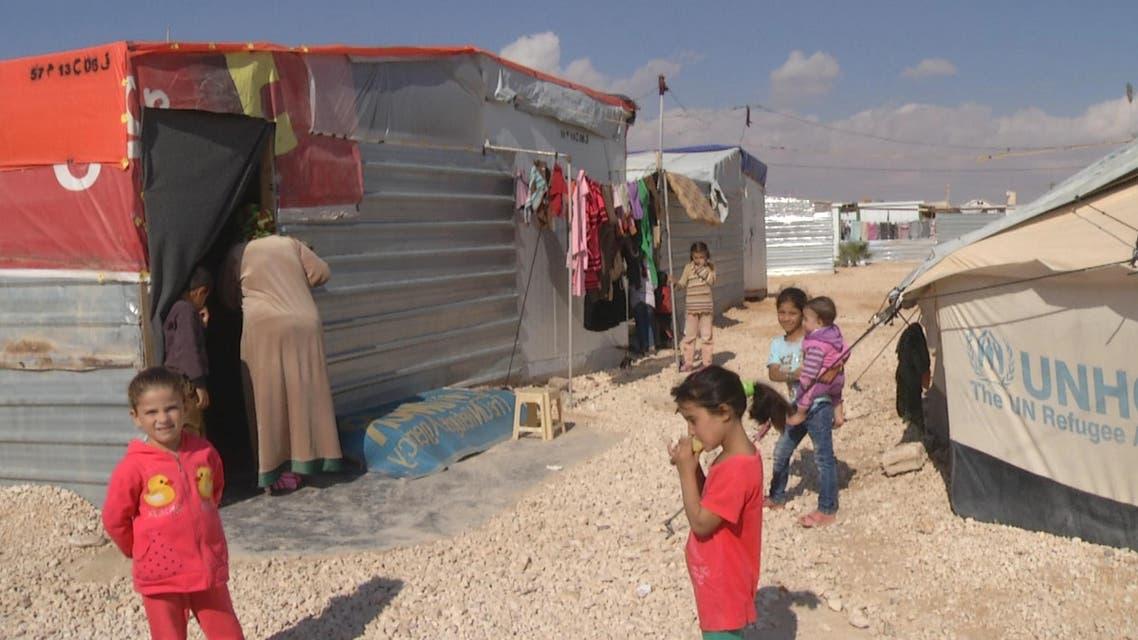 أطفال مخيم الزعتري