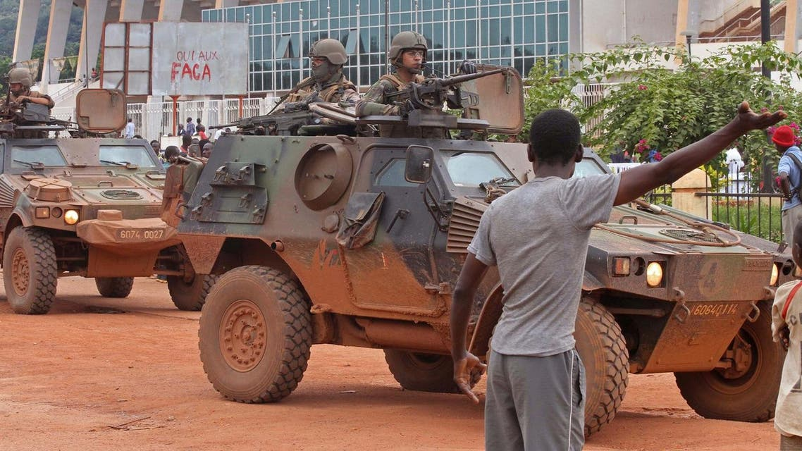 French peacekeeping soldiers patrol the city of Bangui, Central African Republic, Wednesday, Sept. 30. (File photo: AP)