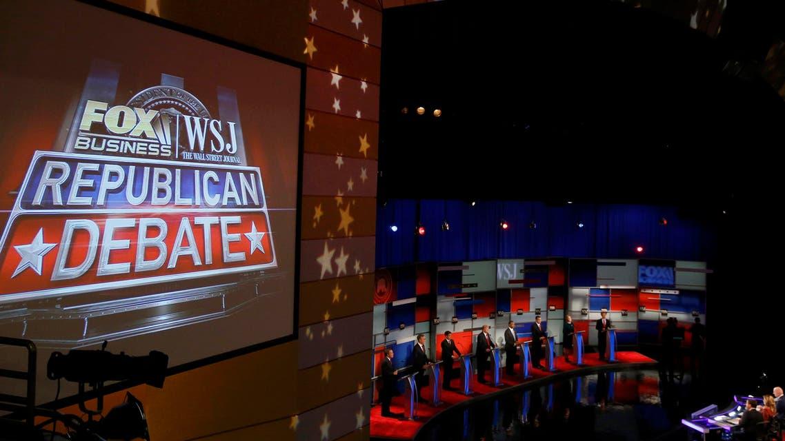 مناظرة -الحزب الجمهوري -انتخابات أميركا 2016