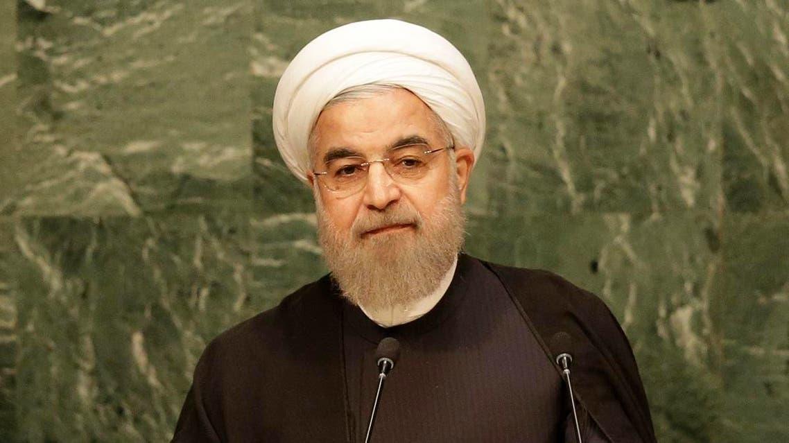 Iranian President Hassan Rouhani addresses the 2015 Sustainable Development Summit, Saturday, Sept. 26. (File photo: AP)