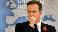 UK's Cameron complains about austerity cuts which he ordered