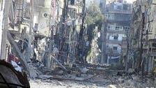 """#الأسد يقصف """"داريا"""" و""""معضمية الشام"""" بالبراميل"""