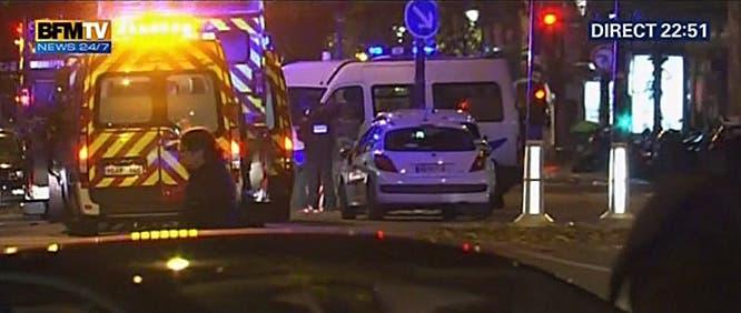 تفجيرات فرنسا باريس