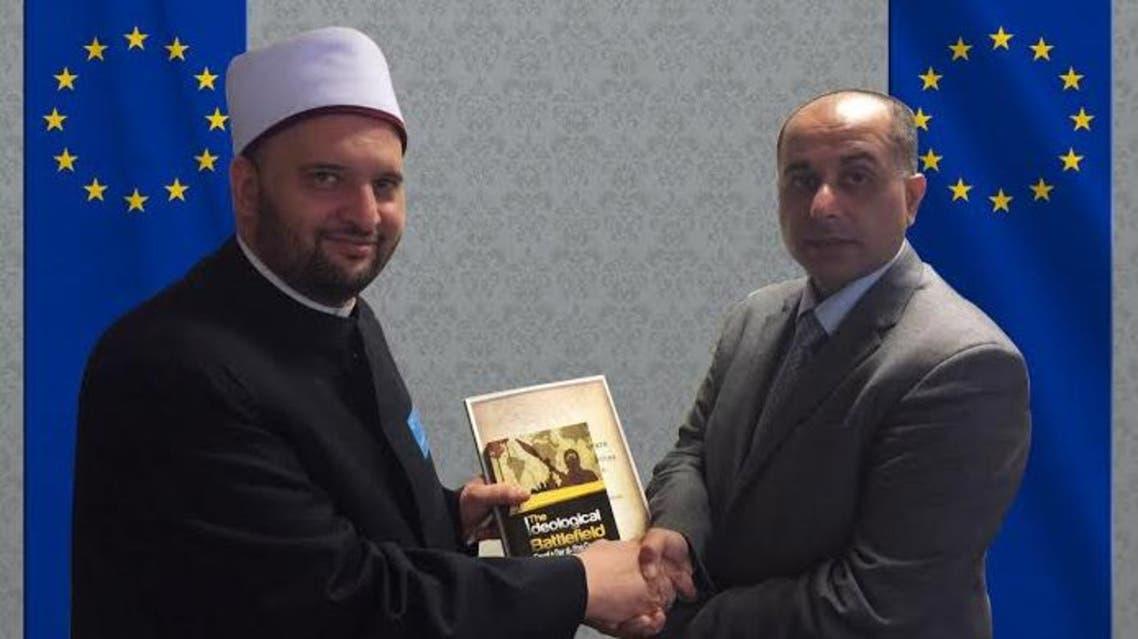 مستشار مفتي مصر خلال اللقاء