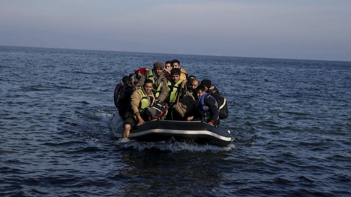 greece lesbos refugees لجوء لاجئون لاجئين ليسبوس اليونان المتوسط