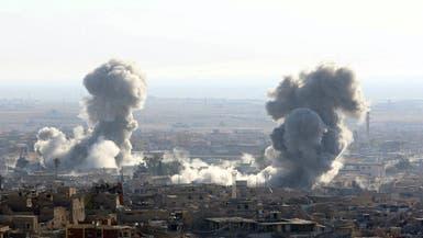 التحالف يشن 12 ضربة ضد داعش في العراق وسوريا