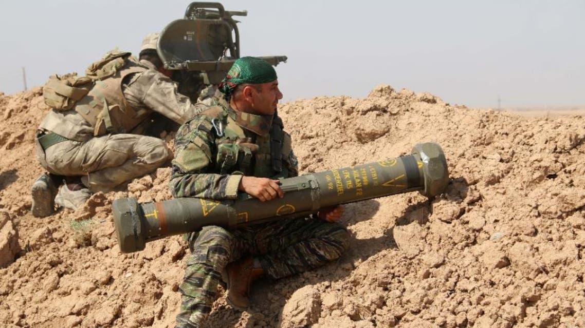 iraqi kurdish fighter AFP