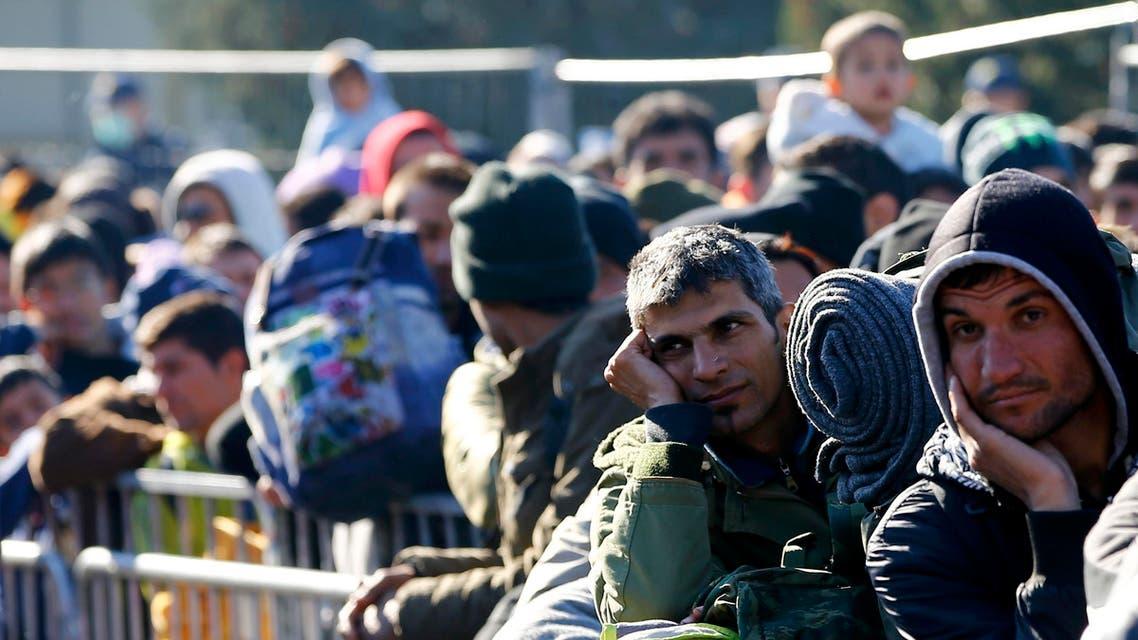 مهاجرون بين النمسا وسلوفينيا 3