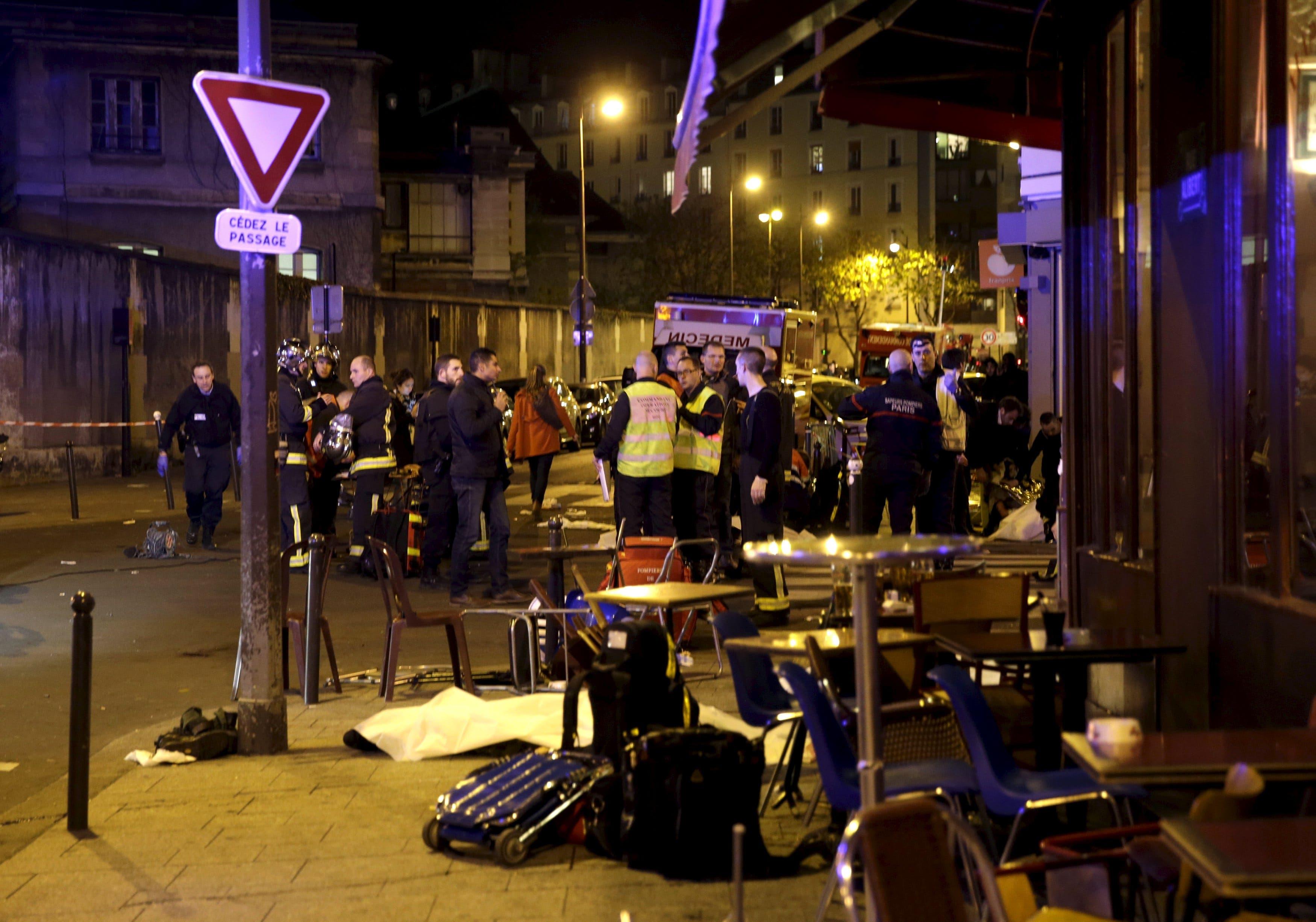 التفجير الذي استهدف المطعم في باريس