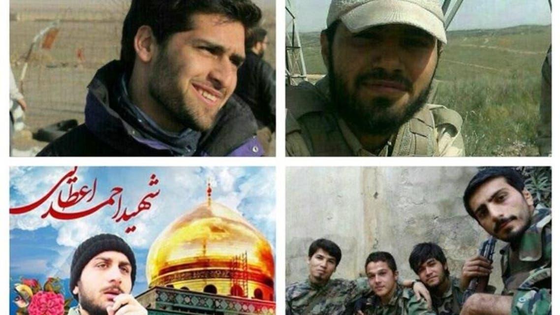 قتلى الحرس الثوري الأربعة في حلب