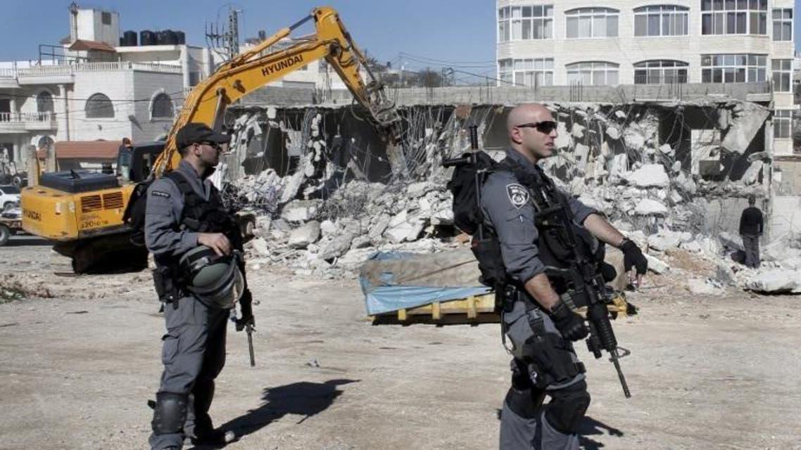 هدم منازل فلسطينيين