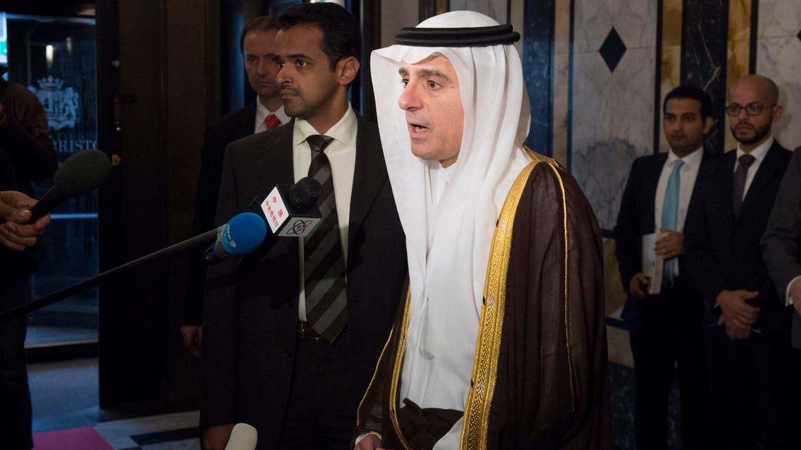 عادل الجبير في مؤتمر فيينا حول سوريا