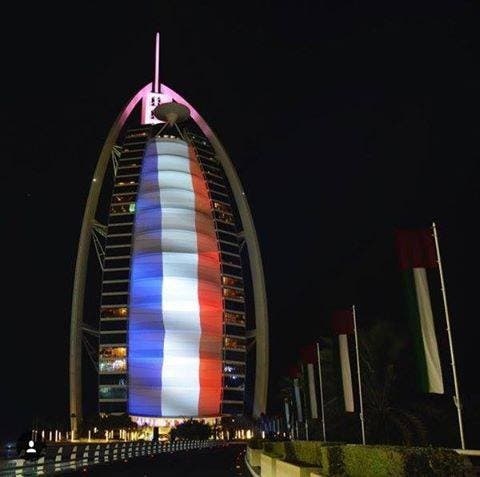 Arab cities lit up in support for Prais victims